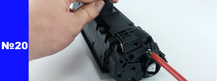 заправка HP CE285A 20