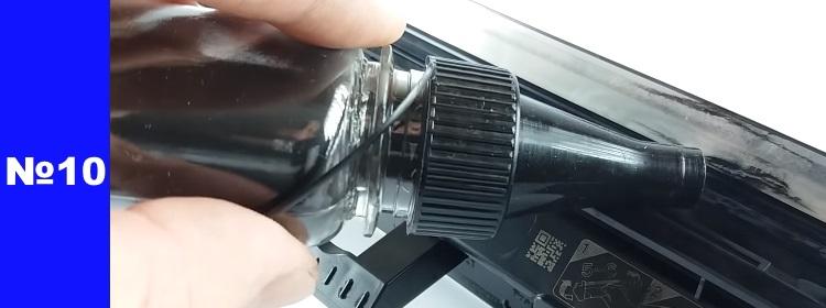 Заправка картриджа HP CF218A 10