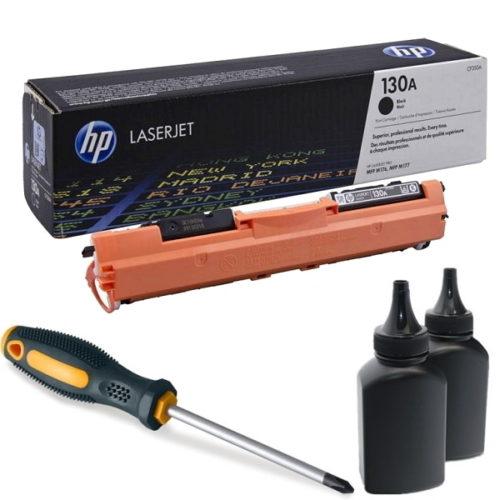 заправка картриджа HP 130A (CF350A)