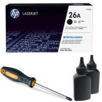 заправка картриджа HP 26A (CF226A)