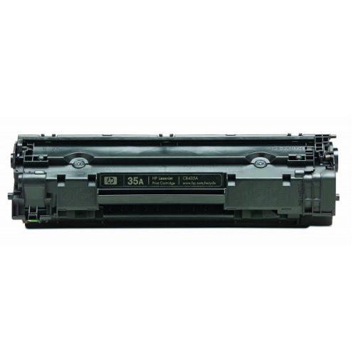 заправка картриджа HP 35A (CB435A) 3