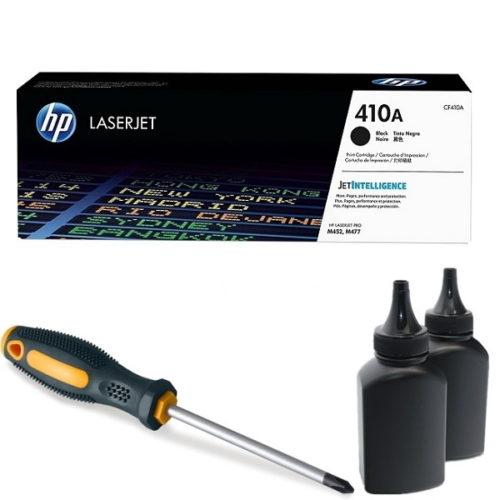 заправка картриджа HP 410A (CF410A)
