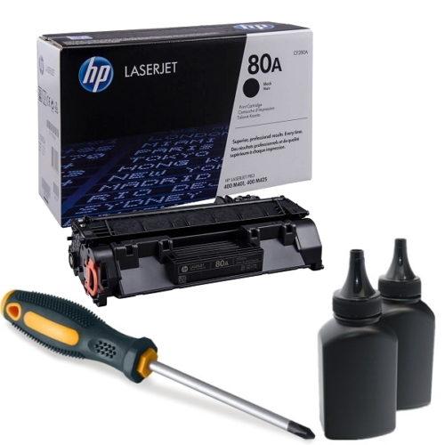 заправка картриджа HP 80A (CF280A)