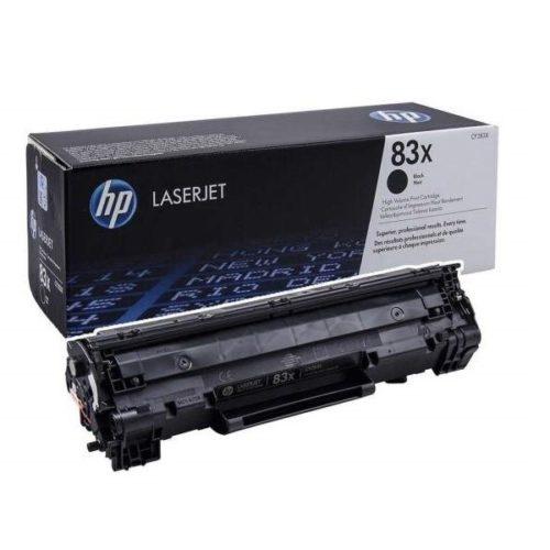 заправка картриджа HP 83X (CF283X) 2
