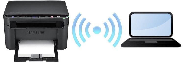 соединение по wifi принтер пк