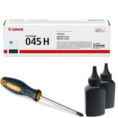 заправка картриджа Canon 045H C (1245C002AA) в Москве