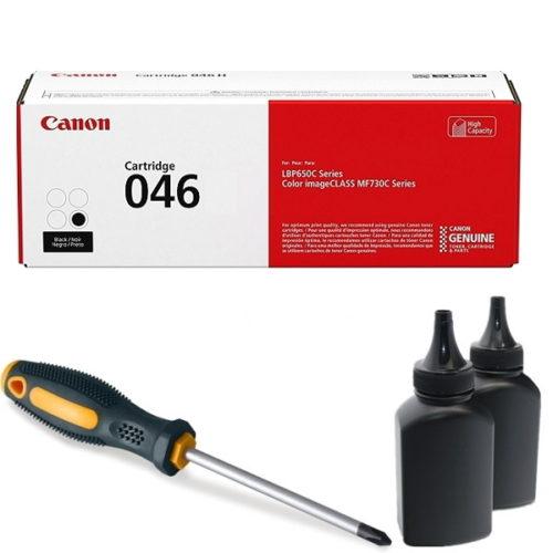 заправка картриджа Canon 046 (1250C002AA) в Москве