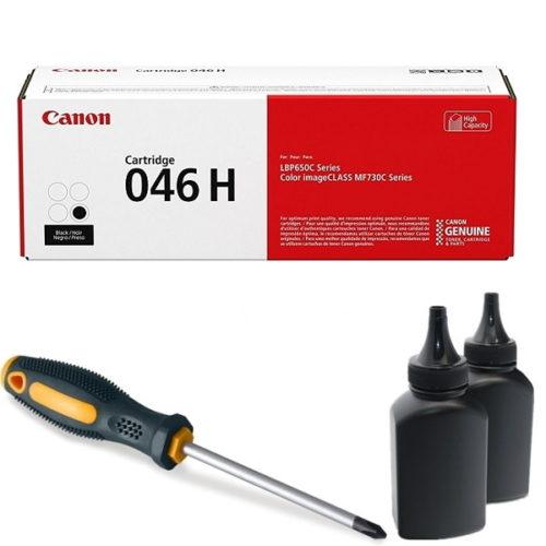 заправка картриджа Canon 046H (1254C002AA) в Москве