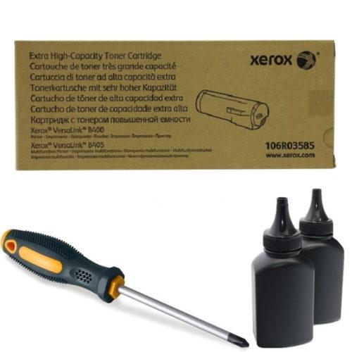 заправка картриджа Xerox 106R03585 в Москве