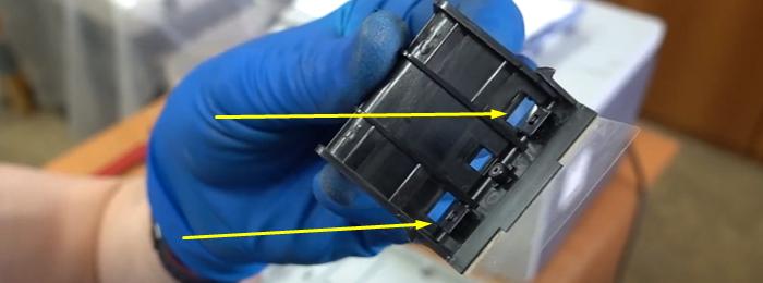 чистка тормозной площадки Samsung SCX-4200 7