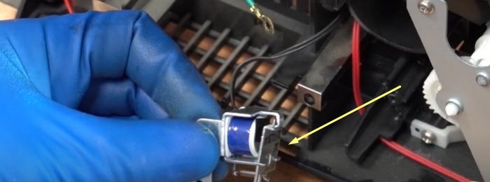 залипание соленоида Samsung SCX-4200 8