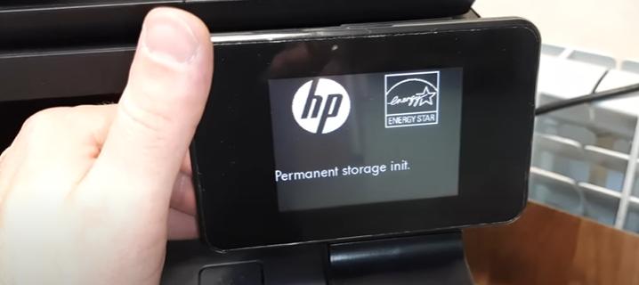 Ошибка Permanent Storage Init 1