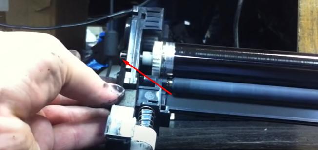 Инструкция по очистке драм-картриджа DK-110 16