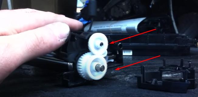 Инструкция по очистке драм-картриджа DK-110 9